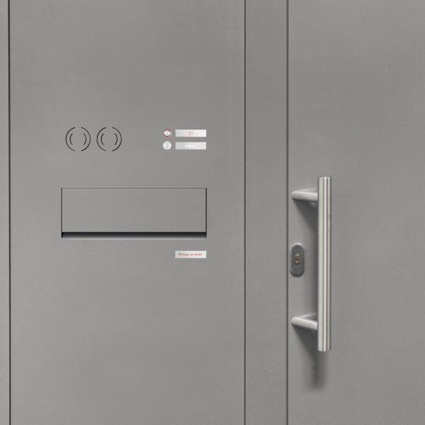 Renz Plan S postkasseanlæg indbygget i dørpanel