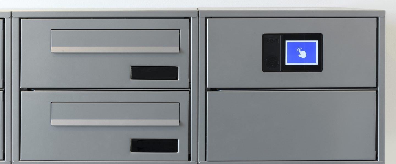 Renz e-Line elektronisk postkasseanlæg - Fasanstien