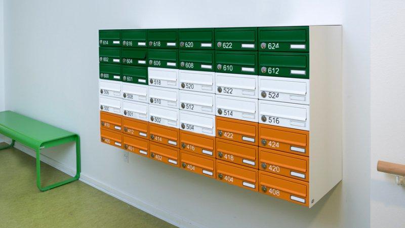 Renz Basic+ postkasseanlæg vægmonteret
