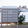 Renz Basic 700 postkasseanlæg på stander
