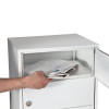 Renz Basic 720 postkasseanlæg med gennemrækning