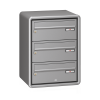 Renz Exclusive liggende postkasseanlæg med RS4000 beklædning
