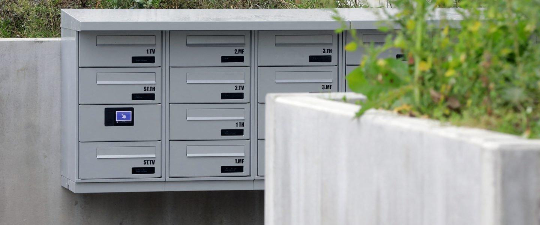 Renz elektronisk postkasseanlæg i Gellerupparken, Aarhus