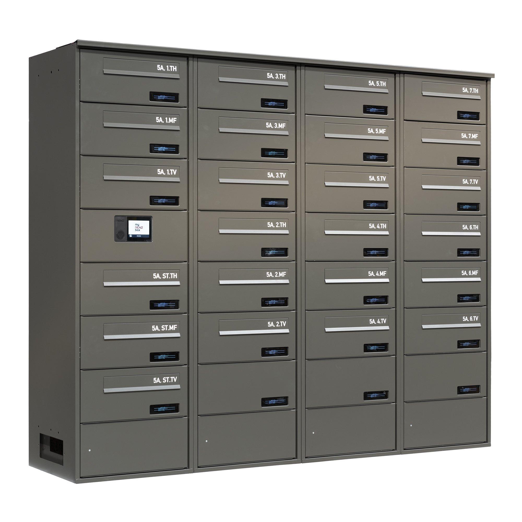 myRENZbox e-Line ingbygget_spec RAL 7022M_v1