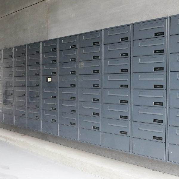 myRENZbox e-Line elektornisk postkasseanlæg, Katrinebjerg Aarhus